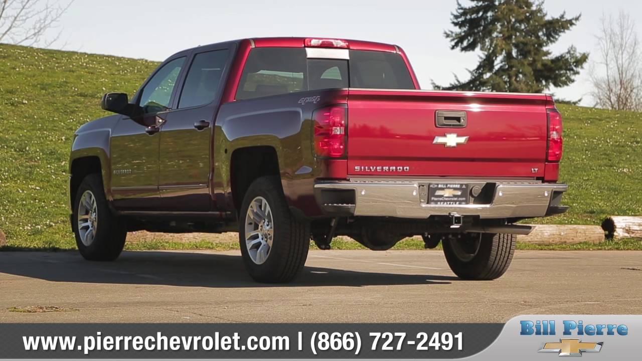 Bill Pierre Chevrolet >> 2016 Chevy Silverado 1500 Review Bill Pierre Chevrolet Serving Seattle Wa