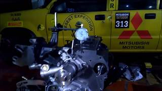 Montagem do Motor 4D56 da L200 Parte 10 PMS e Definição da Junta do Cabeçote