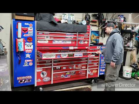 """Harbor Freight US General Series 2 72"""" Toolbox."""