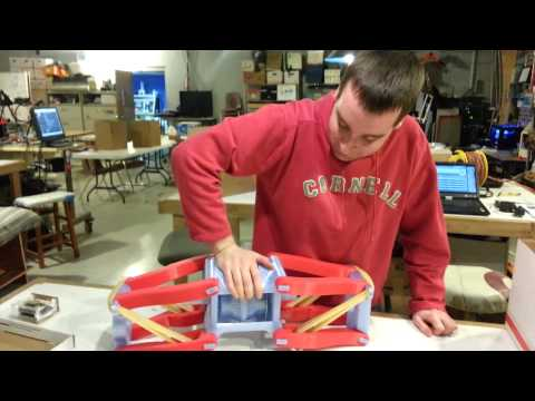 3D Printed Vehicle - Rear Suspension Test
