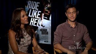 Premium Rush Interviews w/ Joseph Gordon-Levitt & Dania Ramirez