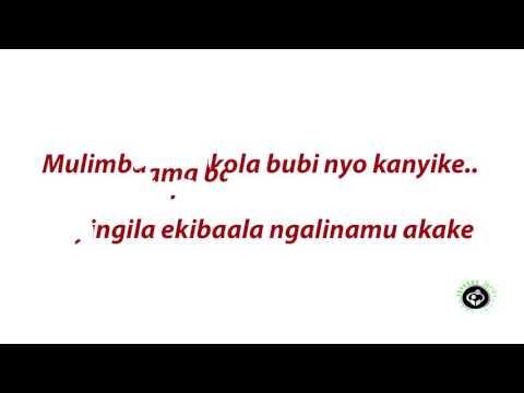 Fik fameika  Mbega webaala lyrics