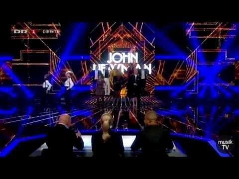 John Newman - Love Me Again (Live @ X Factor Denmark)
