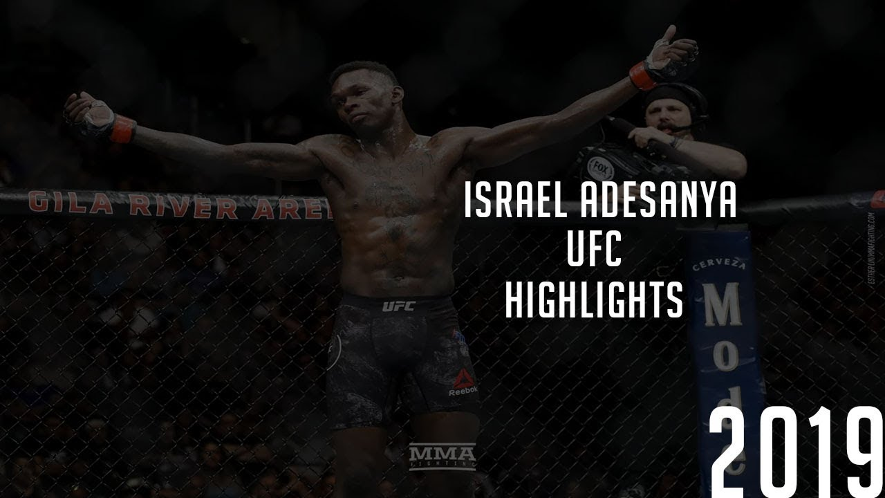Isreal \u0027\u0027The last Stylebender\u0027\u0027 Andesanya UFC Highlights 2019