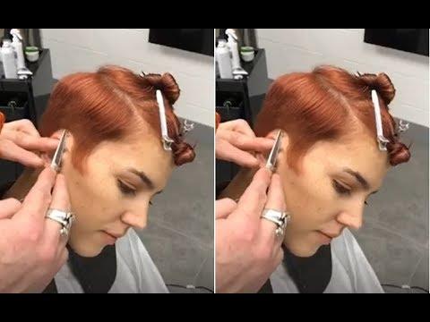 How To Cut Women S Short Hair Short Tomboy Haircut Tutorial Youtube