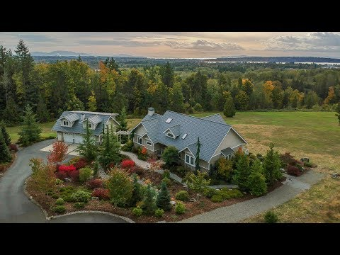 Nicest ocean view home for sale in Blaine Semiahmoo Washington!