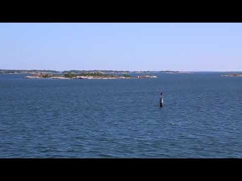 Sweden Stockholm Ferry Archipelago / Suède Archipel de Stockholm en ferry