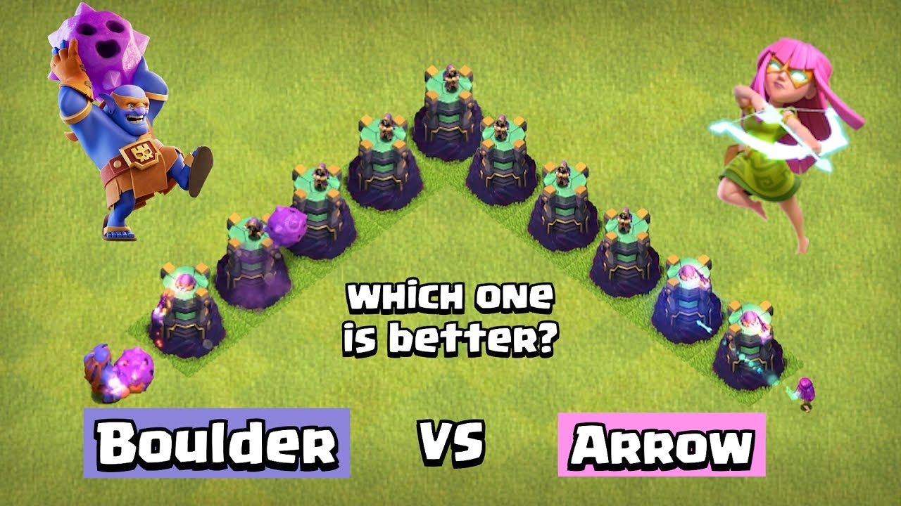Super Bowler vs Super Archer | Clash of Clans