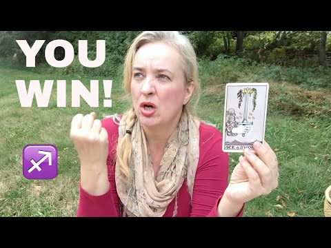 YES, YOU ARE LOYAL, SAGITTARIUS! October 2017 Celtic cross + past life reading