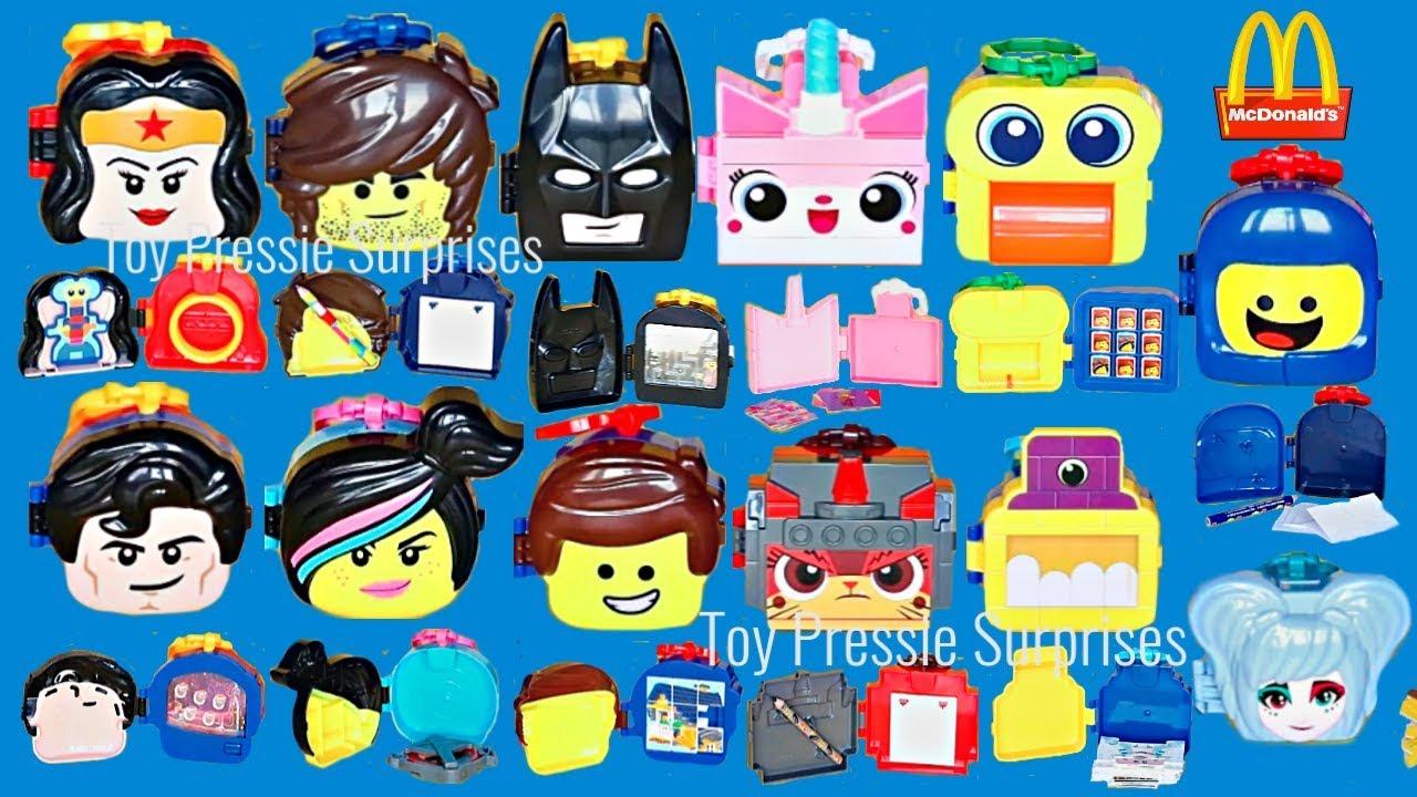 2019 Full Set 12 Toys Mcdonalds Lego Movie 2 The Second