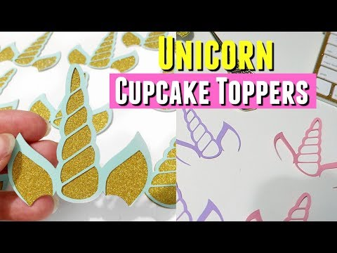 DIY HANDMADE UNICORN CUPCAKE TOPPERS & LUNCH DATE WITH MY SISTER
