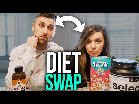 I swapped DIETS with my HEALTH NUT Girlfriend