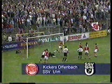 Kickers Offenbach - SSV Ulm 1846 (Regionalliga Süd 97 98  6.Spieltag)