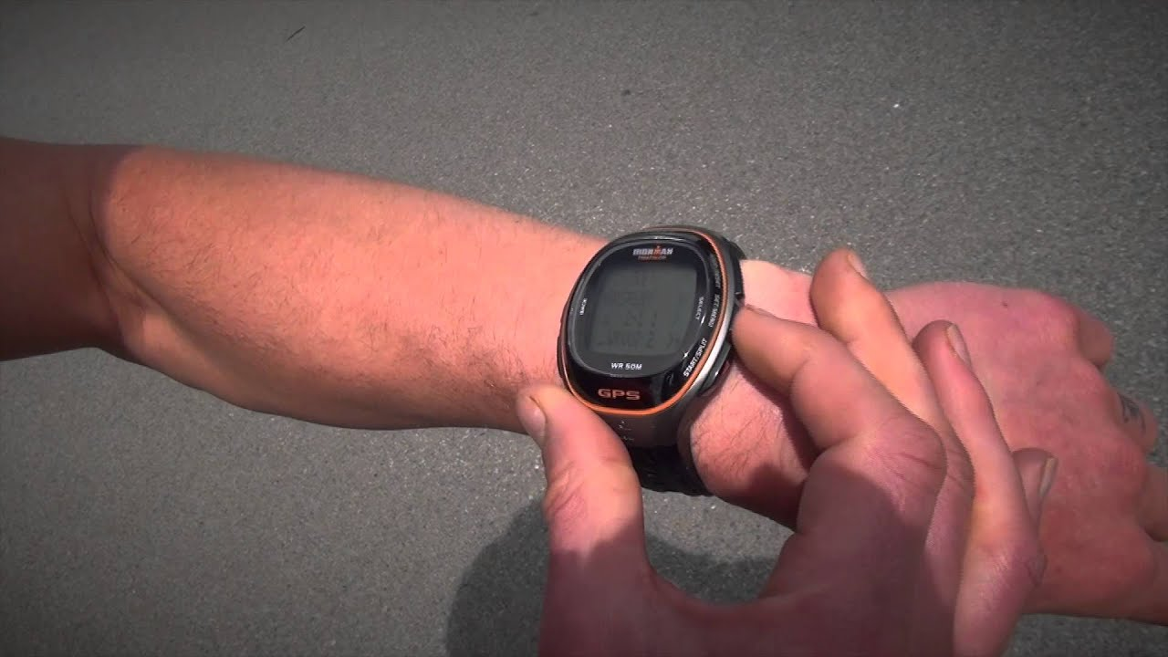 cd394d0ee58f Interval Training with the TIMEX Ironman Run Trainer GPS Watch - YouTube