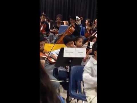 Violin Concert at Hutchison Elementary School 2016