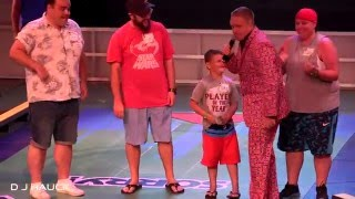 Hasbro the Game Show on Carnival Breeze. Mike Pack, Host. Feb. 5, 2016. 4K