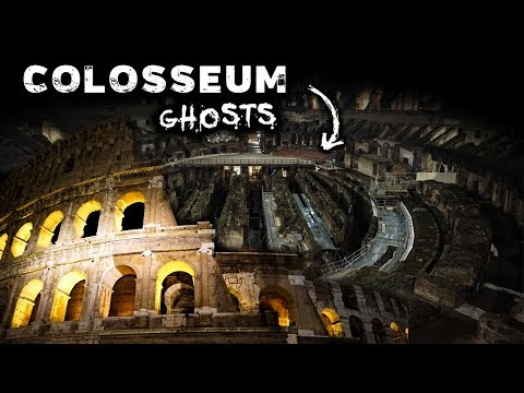 Roman Colosseum AT NIGHT |  Ancient GHOSTS Of Rome, Italy