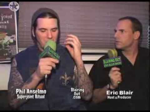 Pantera,Down,SuperJoint Ritual's Phil Anselmo talks w Eric Blair 2003