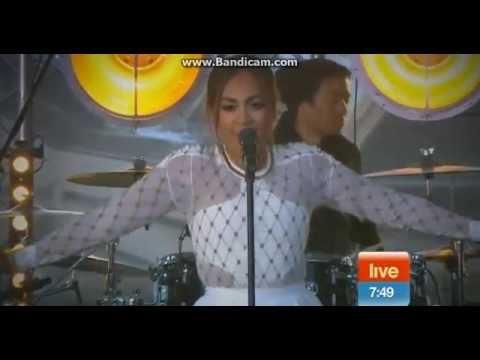 Jessica Mauboy - Pop a Bottle (Live on Sunrise)