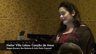 Heitor Villa Lobos/ Arr. Mauricio De Bonis-  Four Songs for Soprano Clarinete & Piano