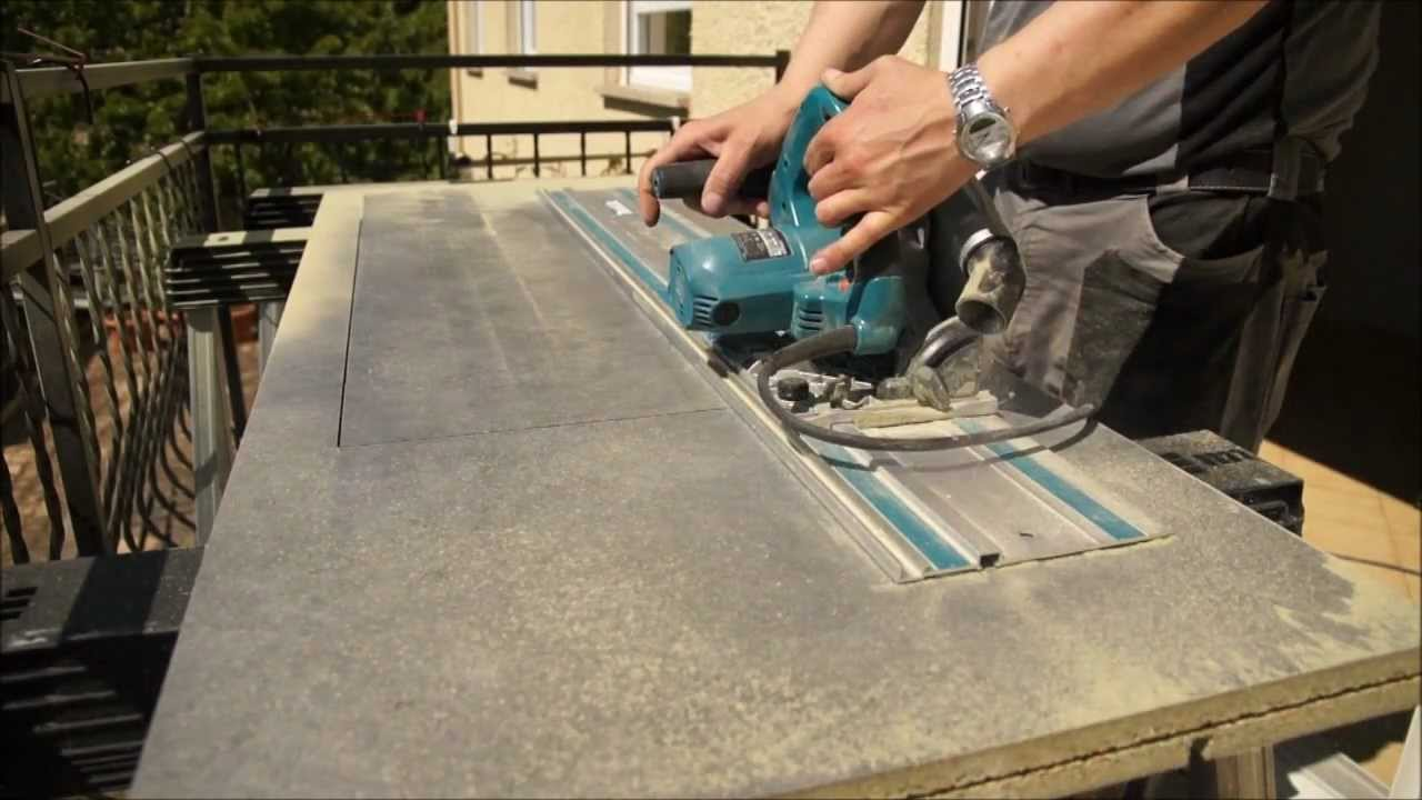 d coupe plan de travail makita sp6000 youtube