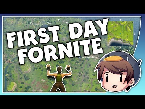 Battle Royale - Fortnite: First Day!
