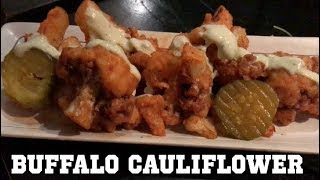 Buffalo Cauliflower & the Best Vegan SeaFood