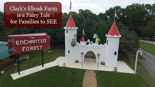 Enchanted Forest Brought Back to Life at Clark's Elioak Farm, Howard County Maryland