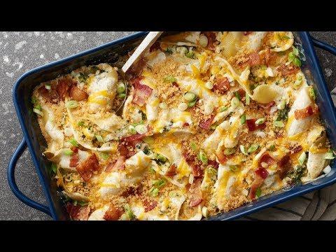 Chicken-Bacon-Ranch Stuffed Shells | Betty Crocker Recipe