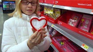 ПОКУПКИ ко Дню СВЯТОГО ВАЛЕНТИНА в Америке Едем за Валентинками и подарками для школы