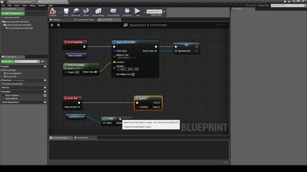 IndieMMO - Dynamic Spawn Point Tutorial - Unreal Engine 4