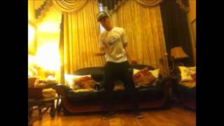 dance freestyle in the living room (troll face)