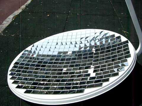 PARABOLIC DISH MIRROR - PARABOLOID DIY REFLECTOR Solar death ray satellite antenna