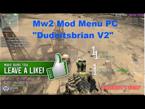 How to get a mod menu on mw2 pc