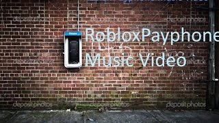 Maroon 5- Payphone- Roblox Music Video