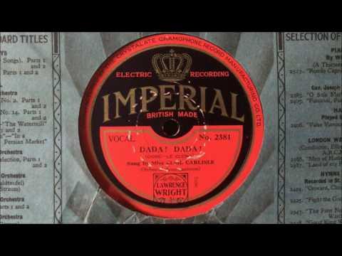 "Elsie Carlisle - ""Dada, Dada"" (Imperial; 1930)"