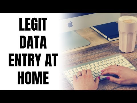 11 Legit Data Entry Work-From-Home Job Sites 2019