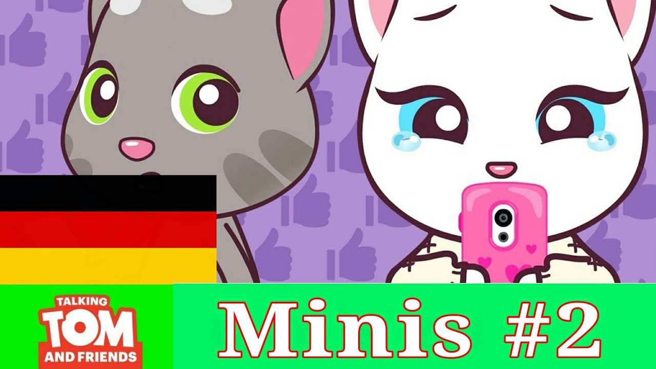 Talking Tom and Friends Minis - Smartphone Diet (Episodio#2)