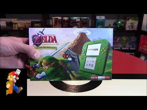 Nintendo 2DS: Link Edition Unboxing (Legend of Zelda)