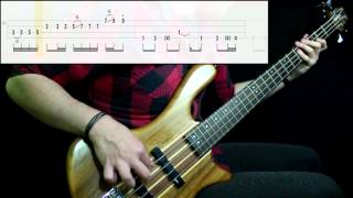 Red Hot Chili Peppers - Suck My Kiss (Bass Cover) (Play Along Tabs In Video)