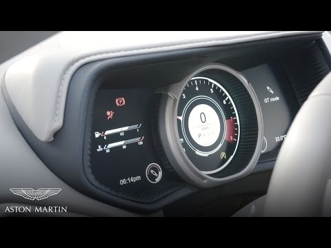 Understanding the Electronic Digital Instrument Cluster | Aston Martin DB11