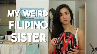 My Weird Filipino Sister (Philippines Vacation)