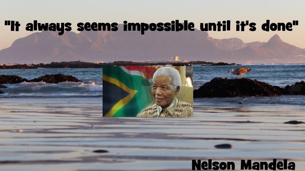 Nelson Mandela Quotes Youtube