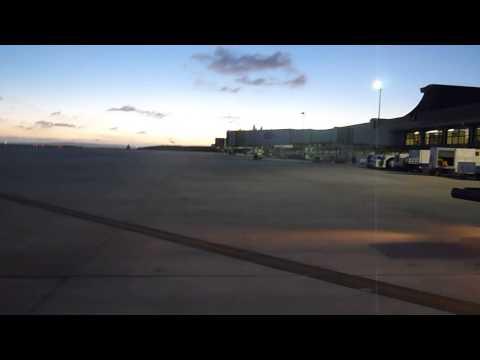 Northern Mariana Islands   Saipan Airport Disembarking