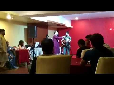 Sang this unreleased Kishore Kumar song at Sangam in Mumbai on 13/1/18