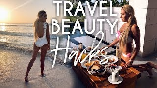 Travel Beauty Hacks | Angie Bellemare