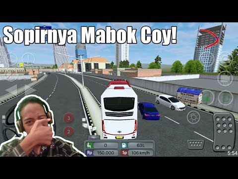 Ugal Ugalan Dari Jakarta Sampai Surabaya! | Bus Simulator Indonesia | Bukan Gamer