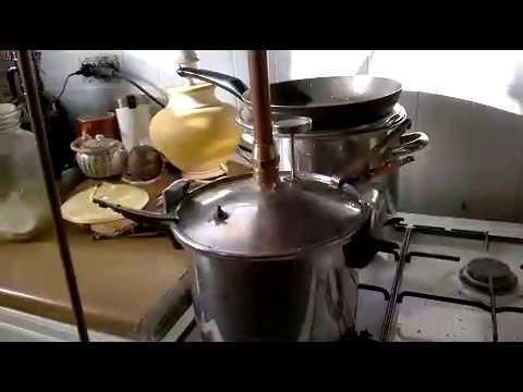 Mon premier alambic youtube for Alambic maison cocotte minute