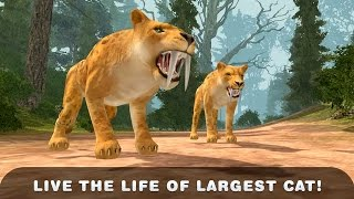 Life of Sabertooth Tiger 3D (by Wild Animals Life) Android Gameplay [HD]