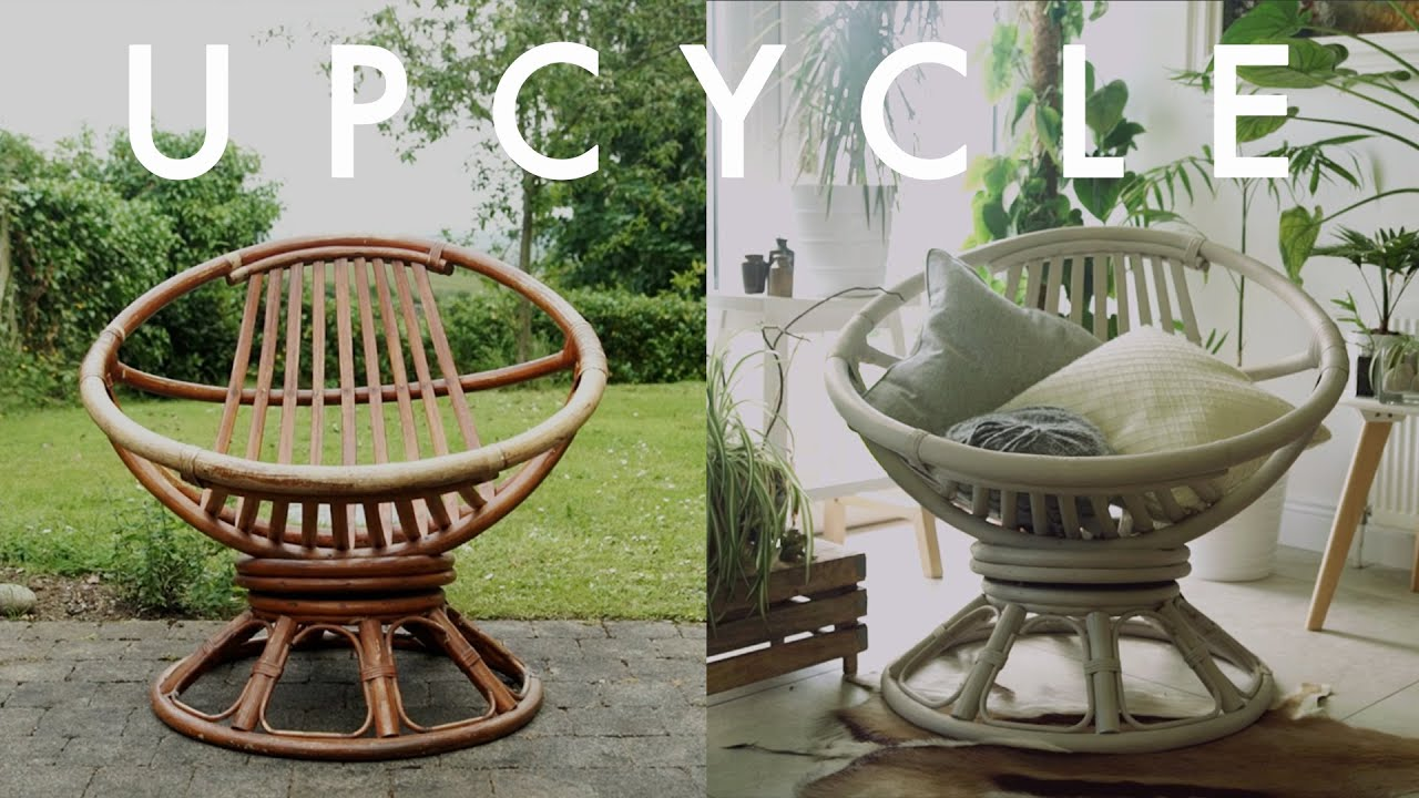UPCYCLE | Retro Cane Chair | Cynch Makes